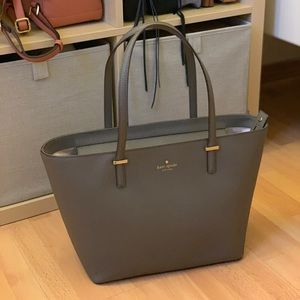 Kate Spade Medium Harmony Tote Cliff Grey